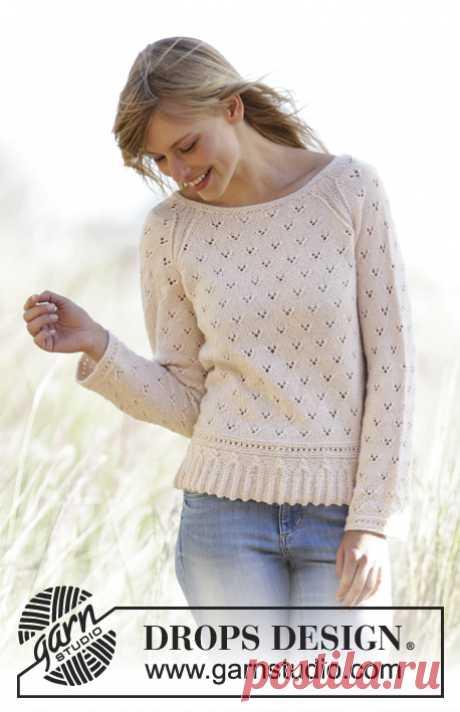 Пуловер Vintage Charmer - блог экспертов интернет-магазина пряжи 5motkov.ru