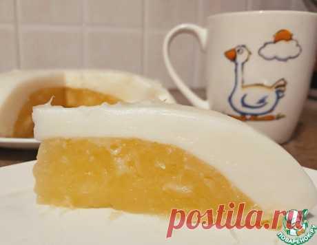 """Молочный десерт """"Яйцо страуса"""" – кулинарный рецепт"""