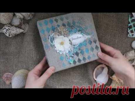 El álbum de mar para MimiCut | Sea mini album