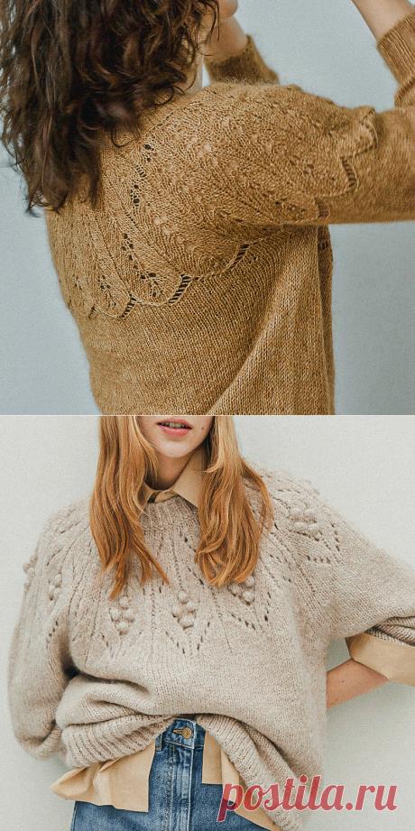 4 осенние схемы по вашим заявкам: два джемпера, платье и шапка   Вязунчик — вяжем вместе   Яндекс Дзен