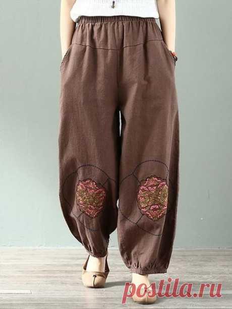 Моделирование простых летних брюк
