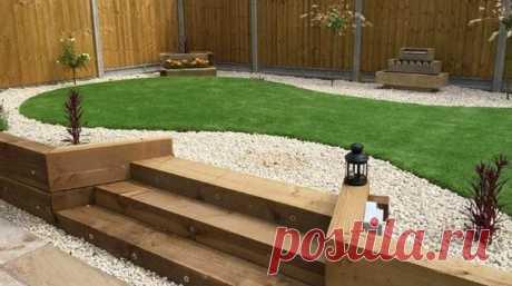 Лестницы в дизайне сада: оригинальные идеи для ступенек / Дизайн для всех!