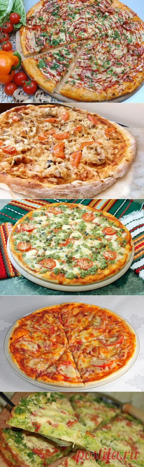 4 отличных рецепта домашней пиццы