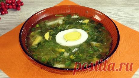 """Готовлю холодный суп из щавелевого отвара: друзья назвали мой способ """"странным"""", но теперь сами так делают   Красилова Наталья / Food   Яндекс Дзен"""
