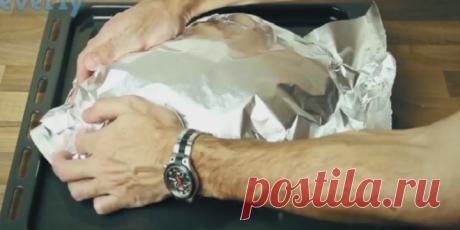 Umotao HLJEB u aluminijsku foliju, a kada vidite razlog ukrast ćete ideju! (VIDEO) – Izaberi Zdravo