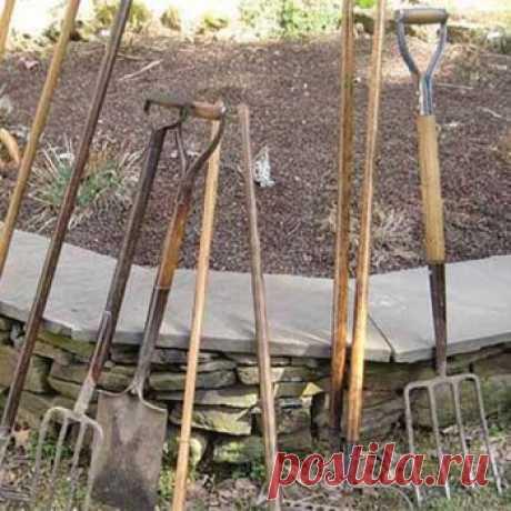 Как продлить жизнь черенку для садового инструмента — Своими руками
