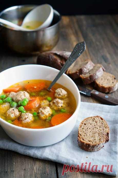 Прозрачный суп с куриными фрикадельками | Andy Chef (Энди Шеф) — блог о еде и путешествиях, пошаговые рецепты, интернет-магазин для кондитеров |