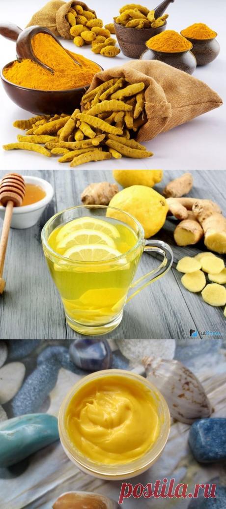 Куркума с медом на ночь: лечебные свойства и рецепты