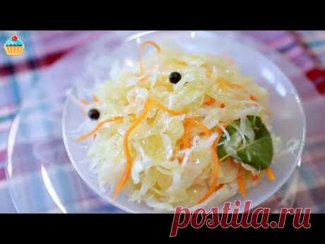 Как приготовить настоящую КВАШЕНУЮ КАПУСТУ. Рецепт вкуснейшей соленой капусты. Очень просто.
