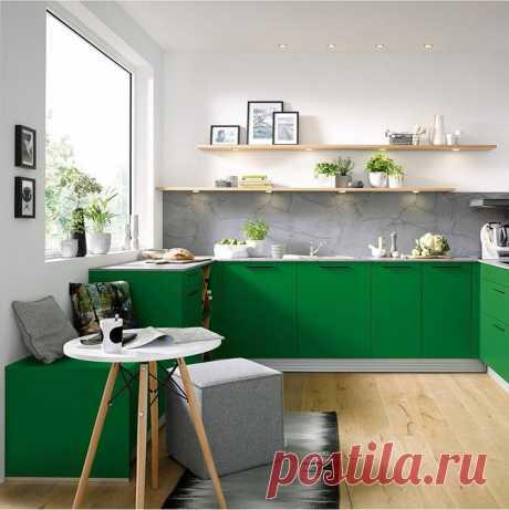 Зеленые цвета и тона в кухне: 73 идеи дизайна интерьера от IVD.ru