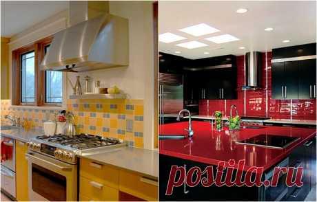 Нескучные варианты оформления кухонного фартука — Pro ремонт