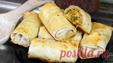 Los pastelillos de lavasha con el relleno de la col y los huevos \u000d\u000a\u000d\u000a\u000d\u000a\u000d\u000a\u000d\u000a\u000d\u000a\u000d\u000a\u000d\u000aLa receta de los pastelillos con la col en lavashe es conveniente a la preparación por la simplicidad y la composición nutritiva. Preparar esta golosina puede el colegial. ¡Preparen en la salud!\u000d\u000aLos ingredientes:\u000d\u000aLa col fresco - …