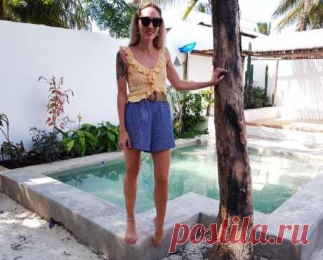 Как сшить пляжные шорты для отпуска — Отлично! Школа моды, декора и актуального рукоделия
