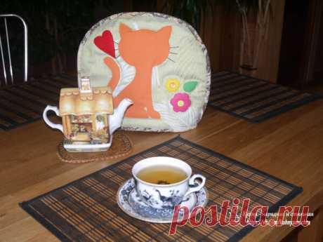 Вы когда-нибудь пробовали чай из вишневых листьев? | Куклы Марины Еремеевой | Яндекс Дзен