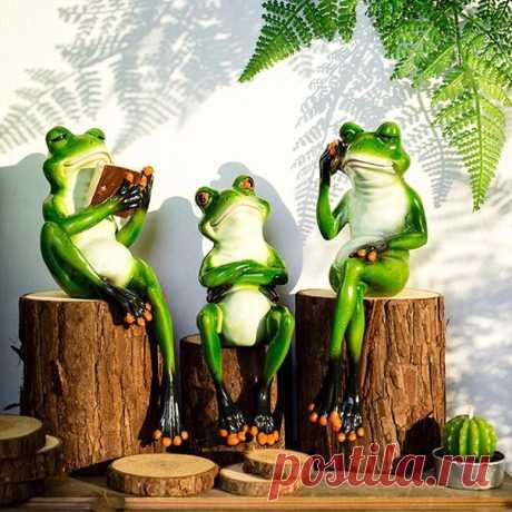 Декоративные фигурки лягушки ============================ https://s.click.aliexpress.com/e/Mh9w4tIo?product_id=..