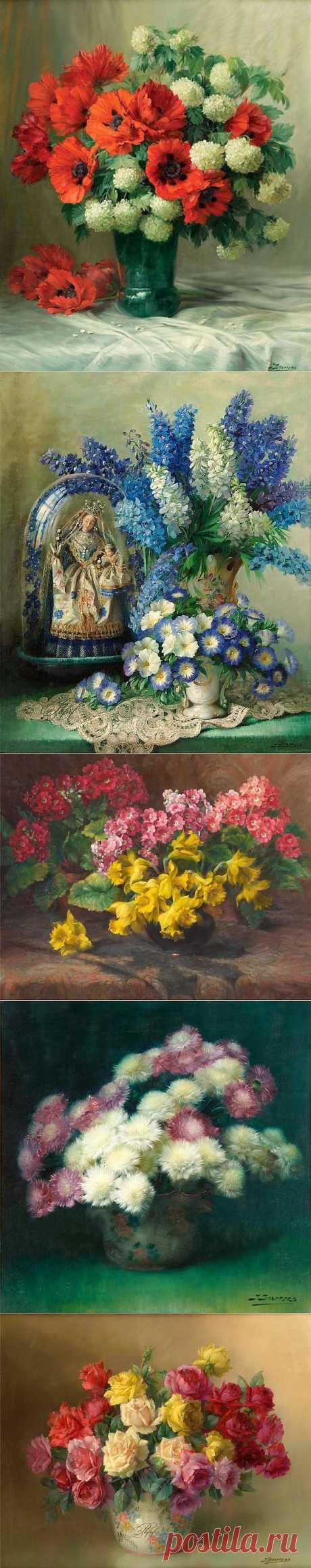 Цветы Julien Stappers.
