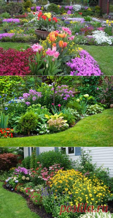 El diseño de paisaje de la parte: 25 modos de dar un nuevo tipo al jardín.