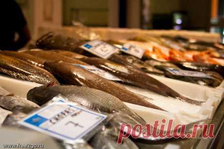 Рынок города Санта-Крус-де-Тенерифе - рыба, морепродукты. | Путевые заметки Алексея Онегина