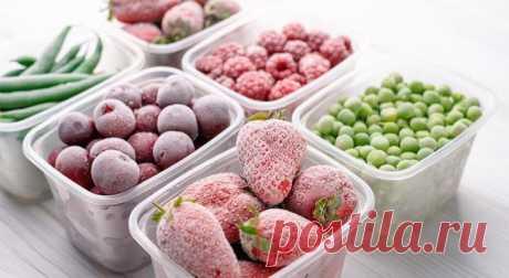 10 правил заморозки ягод, овощей и зелени Самый легкий способ подготовиться к зиме и запастись витаминами!Замораживать можно и нужно! любые ягоды, фрукты, овощи, грибы и зелень: от репчатого лука до лимонов. Ведь найти зимой что-то полезное и...