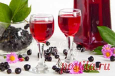 Сказочно ароматный ликер из черноплодной рябины с вишневыми листьями - пьем на следующий день!