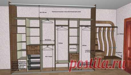 Встроенный шкаф-купе в прихожую: фото, особенности, как выбрать