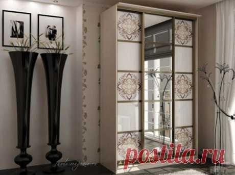 Креативный шкаф-купе с орнаментами купить по цене 48 000 руб. в Москве— интернет магазин chudo-magazin.ru
