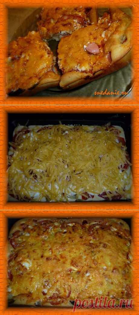 Быстрая пицца на кефире | Снедание