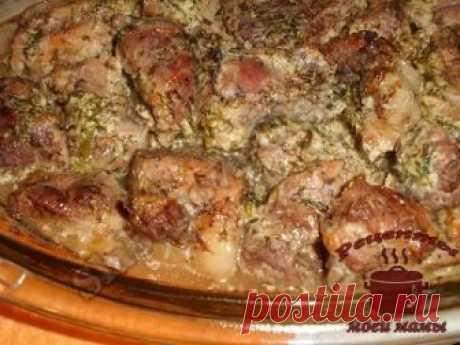 Мясо по-грузински. Рецепт. Фото