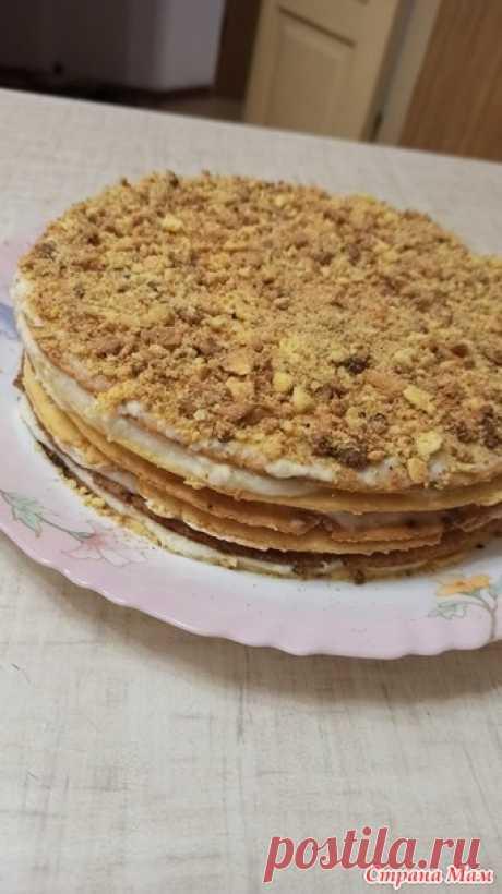 Яблочная свежесть - торт - Страна Мам