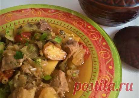 (21) Чанахи (по-грузински) - пошаговый рецепт с фото. Автор рецепта Katerina Fadeeva . - Cookpad