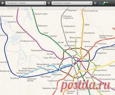Карта метро Москвы --- интерактивная схема московского метро:  Metromap.ru — это интерактивная схема московского метро, которая поможет вам выбрать оптимальный маршрут и рассчитать время в пути. Чтобы узнать, где находится нужная станция, достаточно набрать несколько букв её названия