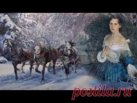 """The ancient Russian romance \""""In Lunar Shine Snow Is Silvered\"""" performed by Gulnara Ismayeva"""