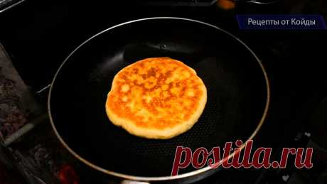 Готовлю хачапури только по этому рецепту: без дрожжей и на сковороде (быстро и вкусно)   Готовим с Екатериной Койдой   Яндекс Дзен