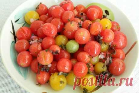 Малосольные помидоры черри быстрого приготовления — СОВЕТНИК