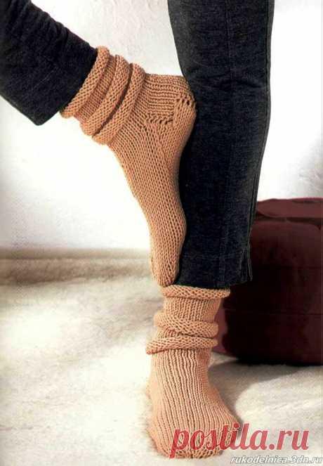 16 способов вязания носков |