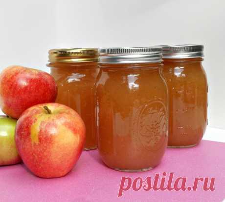 Повидло из яблок по бабушкиному рецепту | Кулинарные записки обо всем | Яндекс Дзен