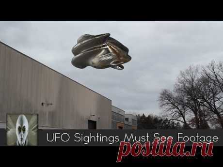 UFO Sightings Must See Footage February 2nd 2017 - YouTube