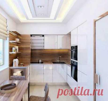 Идеи оформления и организации пространства на маленькой кухне