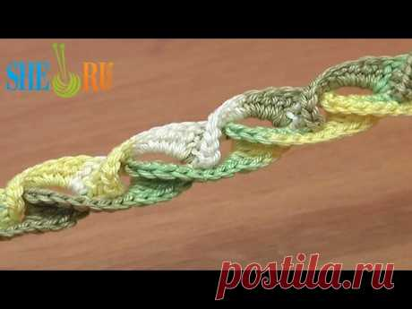 Урок посвящен вязанию шнура с навязкой, которая выполняется по его лицевой стороне. Интересный прием навязывания крючком столбиков без накида дает возможность создания объема. Выполняется просто, выглядит превосходно. Такой шнур можно использовать не только в создании шнуркового кружева, а и для изготовления, например, браслета. Приятного Вам просмотра!
