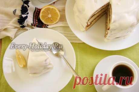 Сметанный торт, рецепт простой в духовке: пошаговый рецепт