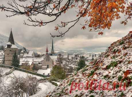 December in Zug........by Caroline Pirskanen #Switzerland / Gabriele Corno