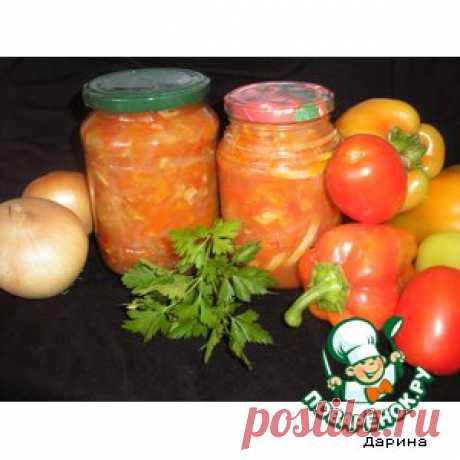 """Кабачковый салат """"Анкл Бенс"""" – кулинарный рецепт"""