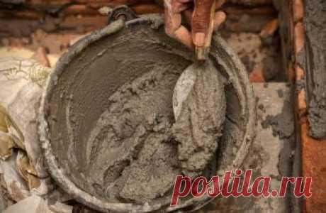 Делаем цемент своими руками – готовые рецепты