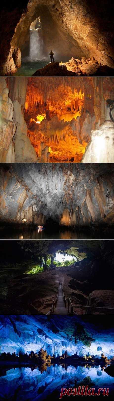 Завораживающие фото пещер..