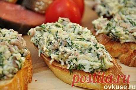 Бутерброды с печенью трески и сыром - Простые рецепты Овкусе.ру
