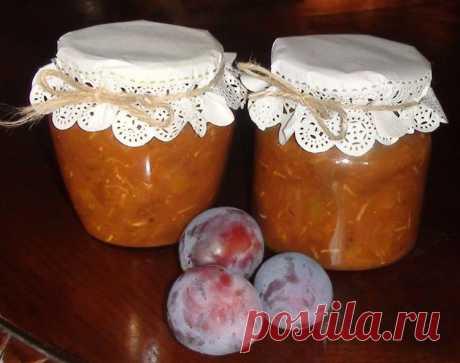 La salsa de ciruelo para el invierno \/ De ciruelo chatni - las recetas Simples Овкусе.ру