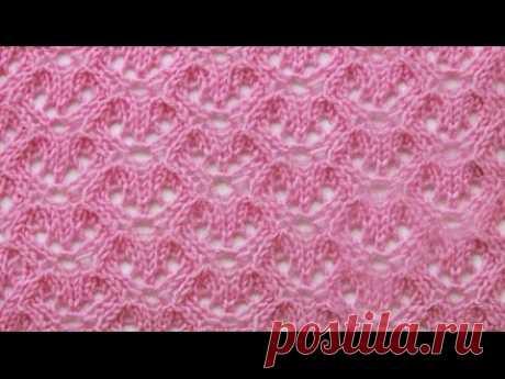 УЗОР «АЖУРНЫЕ ЯЧЕЙКИ»_Knitting flowers