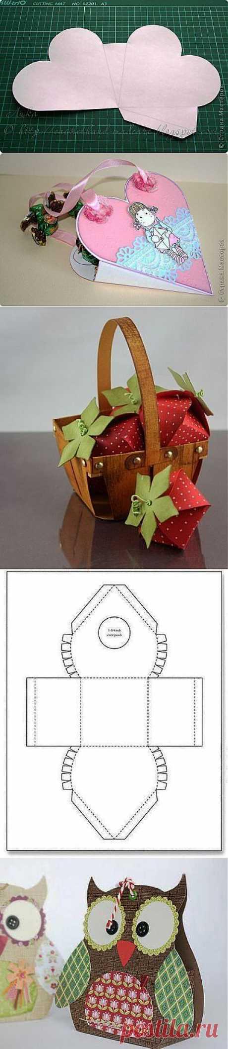 блоКОМОДо : Подарочные коробочки!