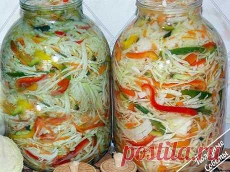 Заготавливаем капустку на зиму! 9 супер рецептов! | Полезные советы домохозяйкам