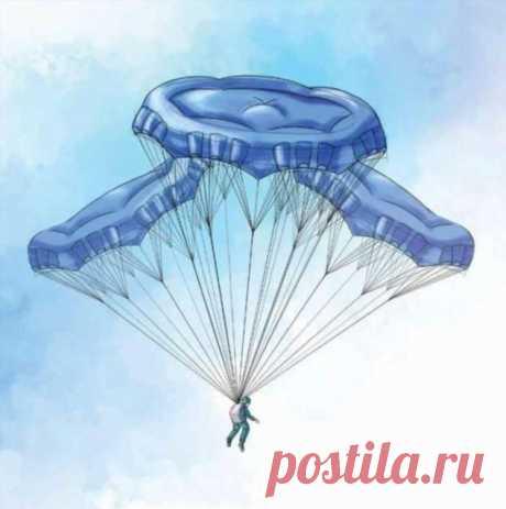 «Ростех» собирается наладить экспорт парашютов для спасения (3 фото) . Тут забавно !!!